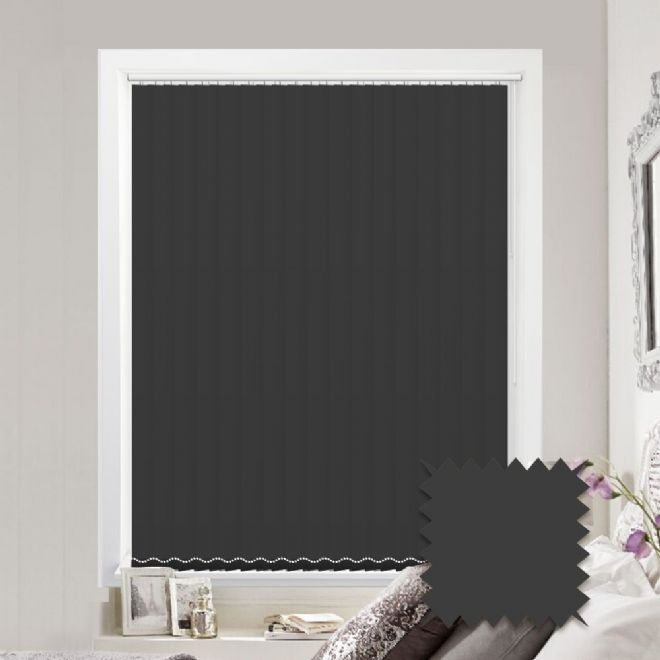 Multiple Vertical Blind Offer | Black Vertical Blinds